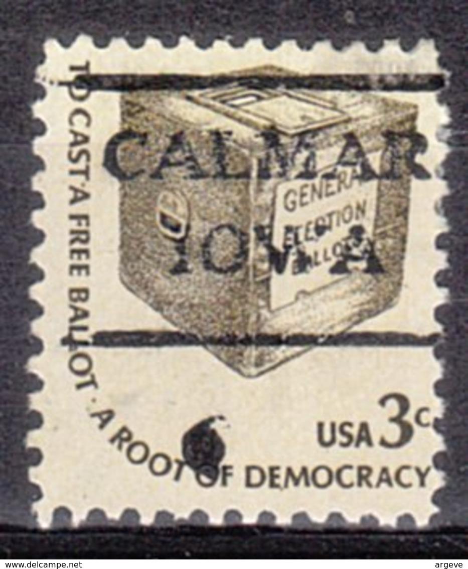 USA Precancel Vorausentwertung Preo, Locals Iowa, Calmar 716,5 - Vereinigte Staaten