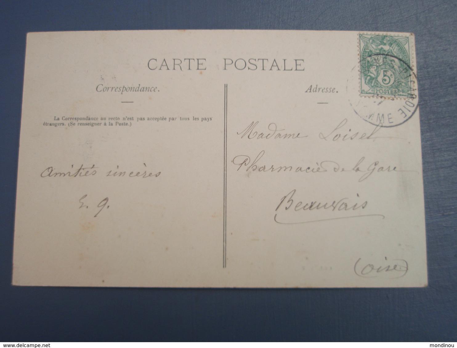 Cpa Warvillers, Par Rosières Le Château. 1907 - Unclassified