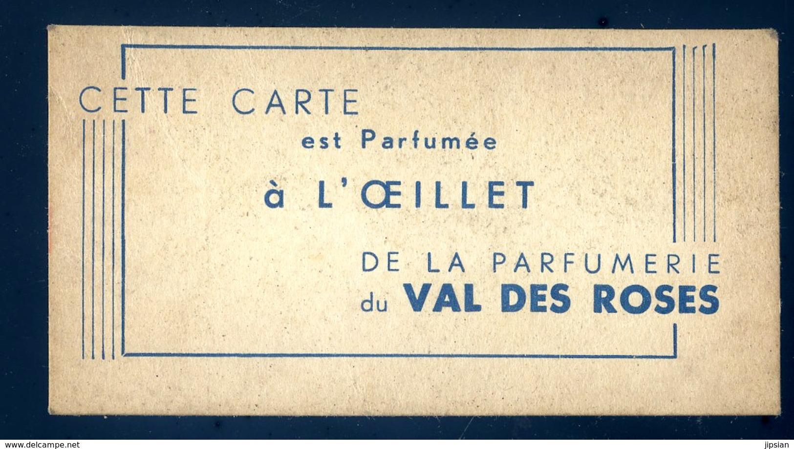 Carte Parfumée De La Parfumerie Du Val Des Roses JM11 - Duftkarten