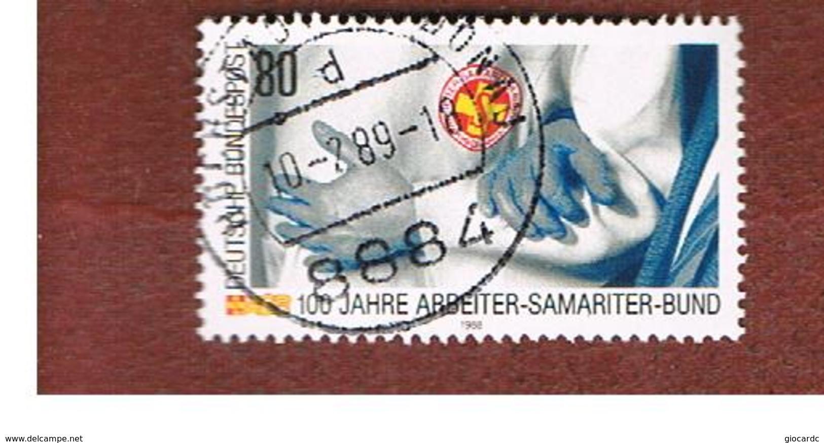 GERMANIA (GERMANY) - SG 2259 - 1988 SAMARITAN WORKERS' ASSOCIATION      - USED - [7] République Fédérale