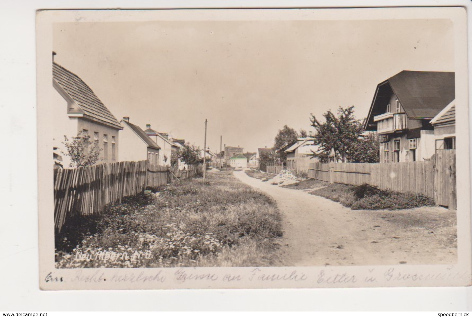26986 Neu Albern - Wien Autriche -1933 - Vienne