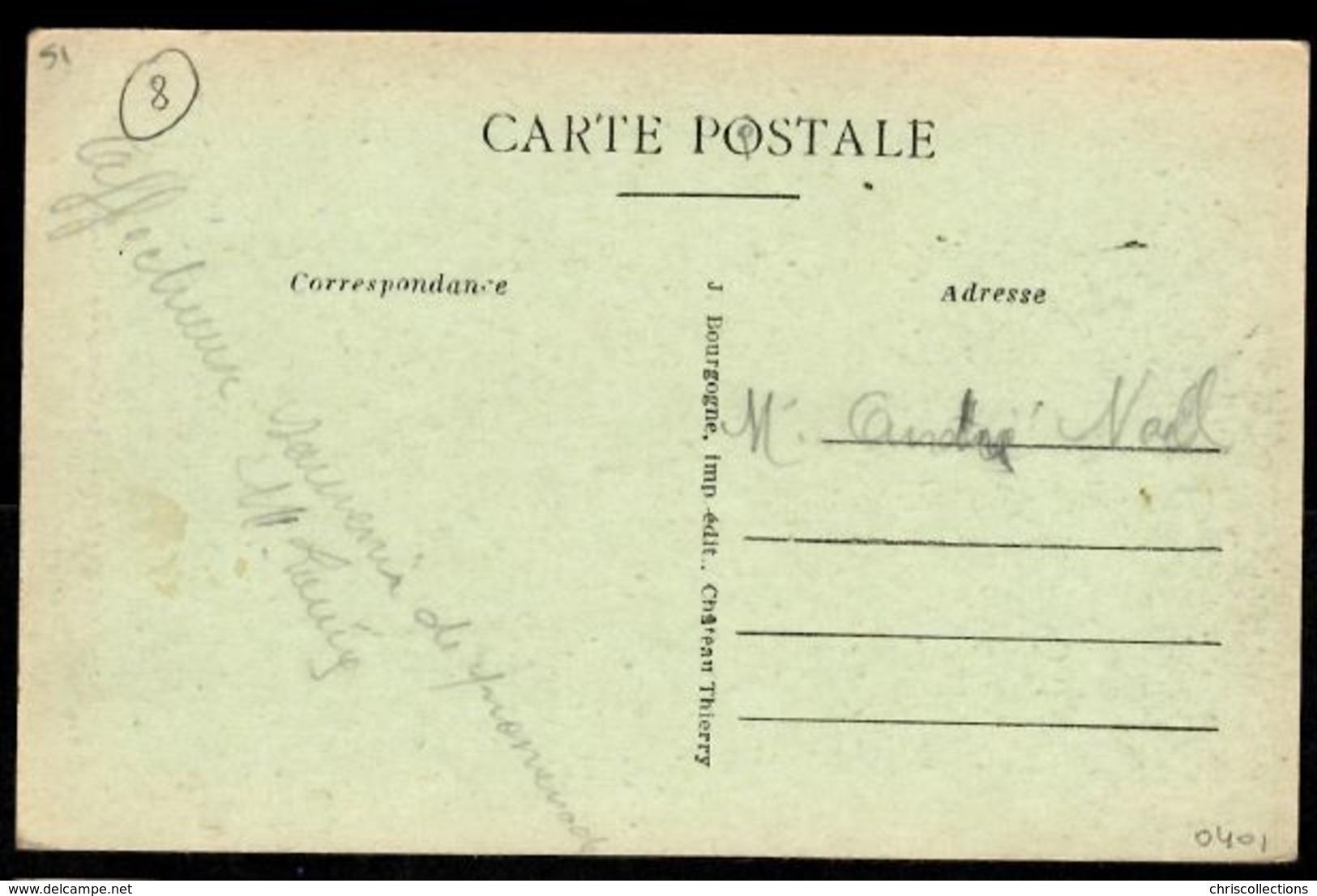 51 - CONNANTRE (Marne) - La Cascade Du Château - Francia