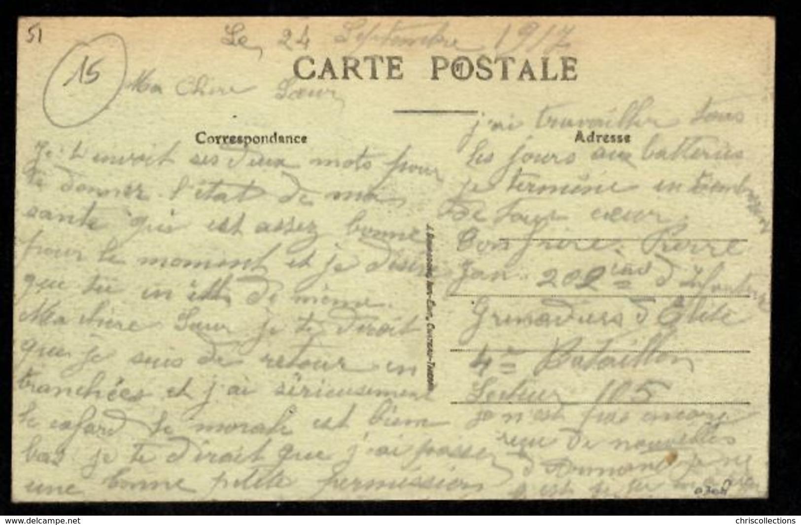 51 - CONNANTRE (Marne) - Route De Fère Champenoise - Café De La Gare - Other Municipalities