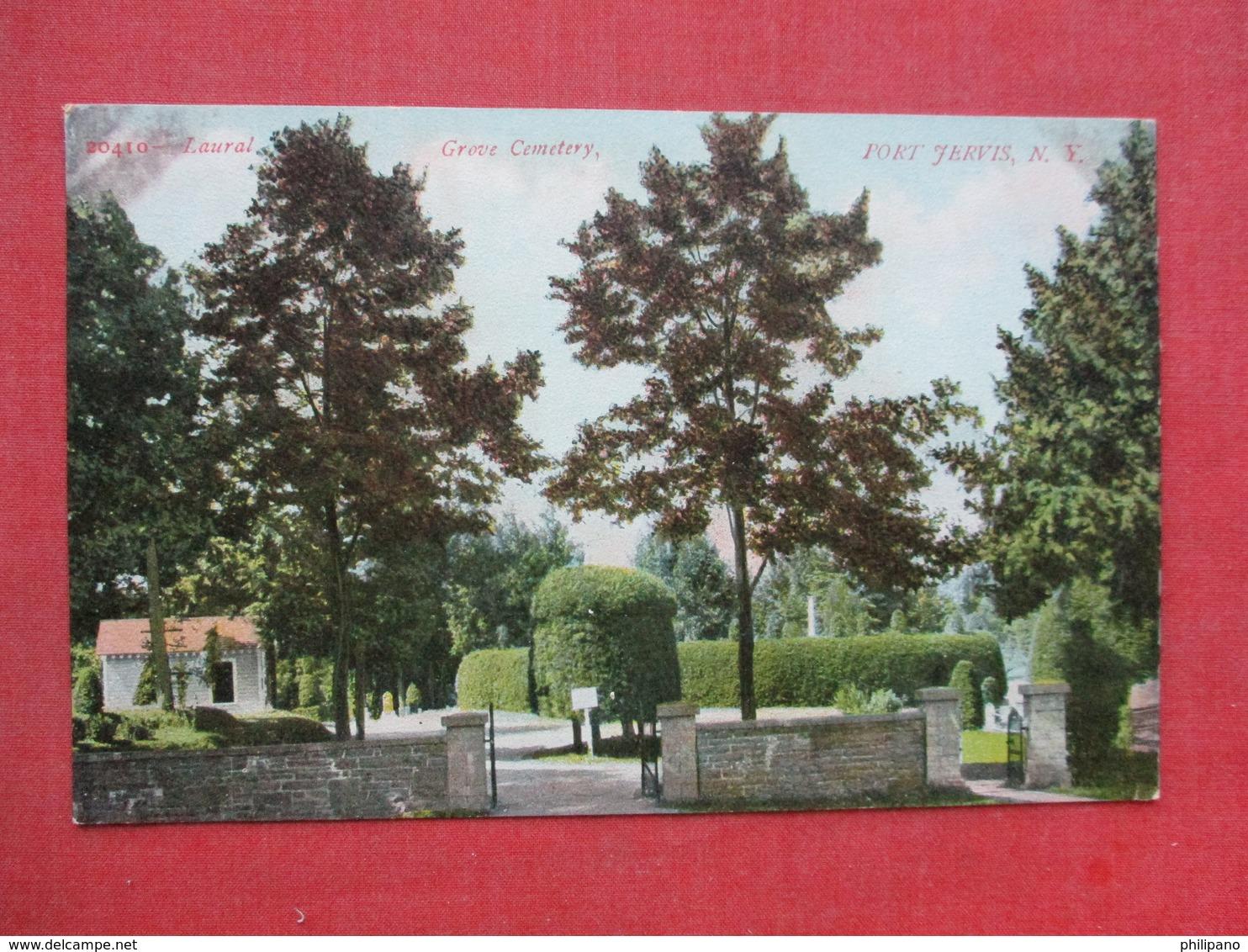Grove Cemetery  Port Jervis - New York >   Ref 3399 - NY - New York