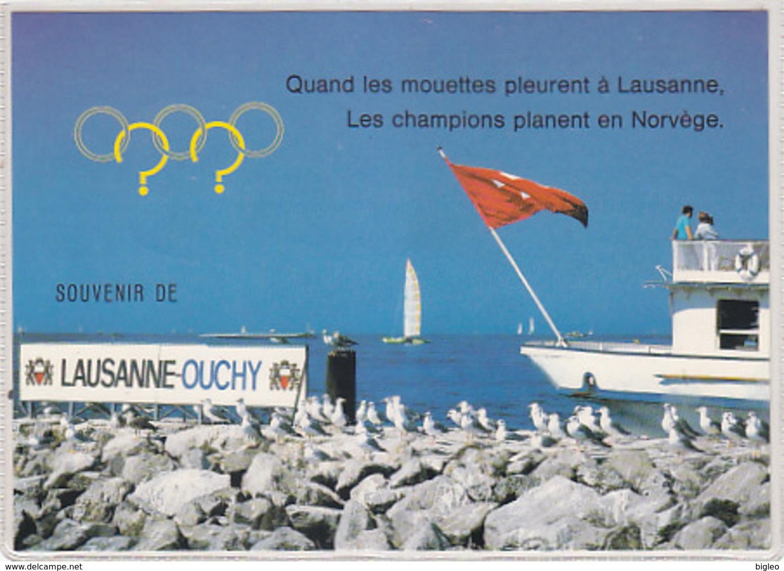 Quand Les Mouettes Pleurent - Oblit.spécial Lillehammer 1994       (A-77-170701) - Giochi Olimpici