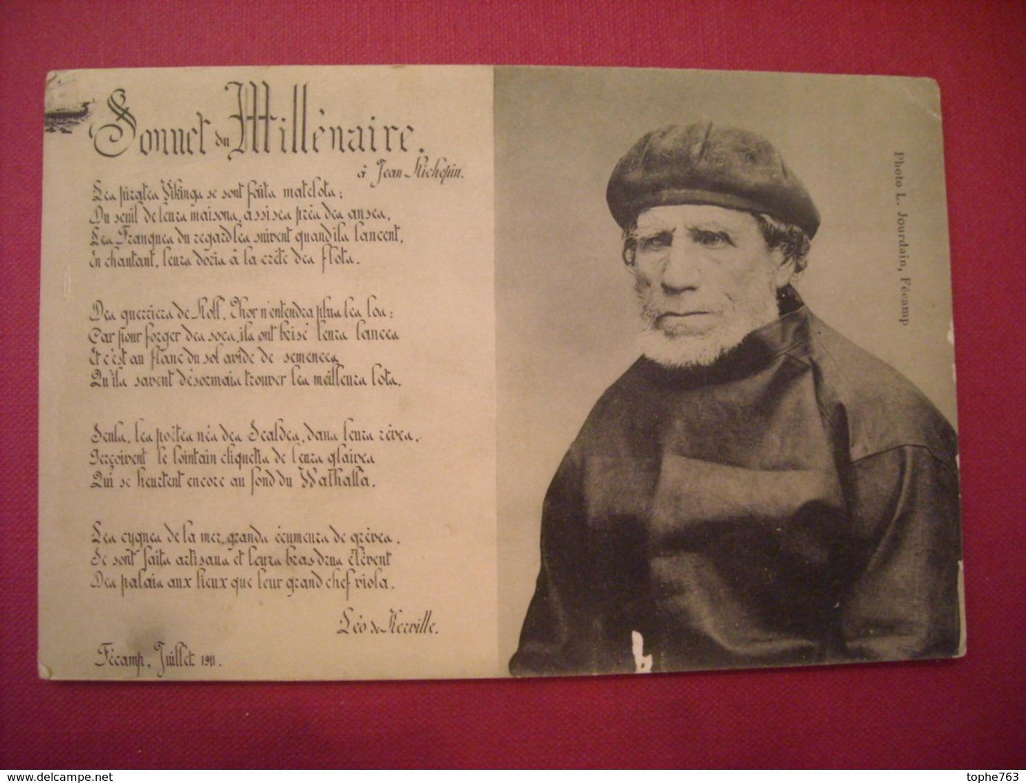 Sonnet Du Millénaire à Jean Richepin 1911 - Fécamp