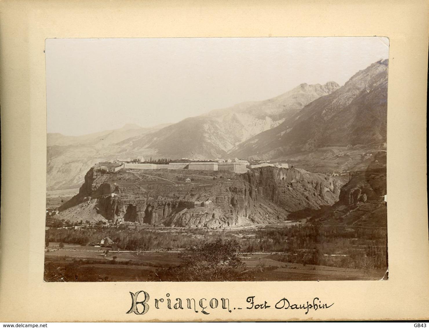 Briançon Fort Dauphin - Alte (vor 1900)