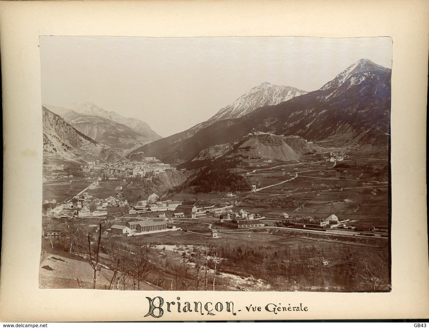 Briançon Vue Générale - Alte (vor 1900)