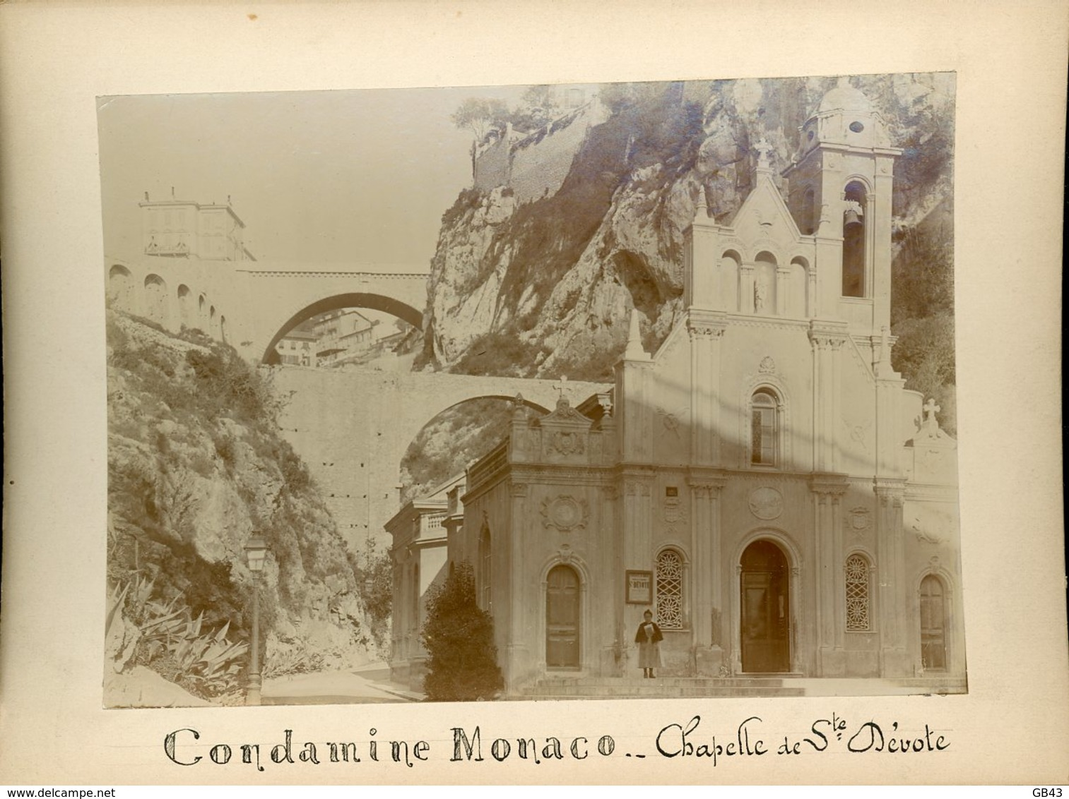 Chapelle De La Dévote - Condamine - Monaco - Alte (vor 1900)