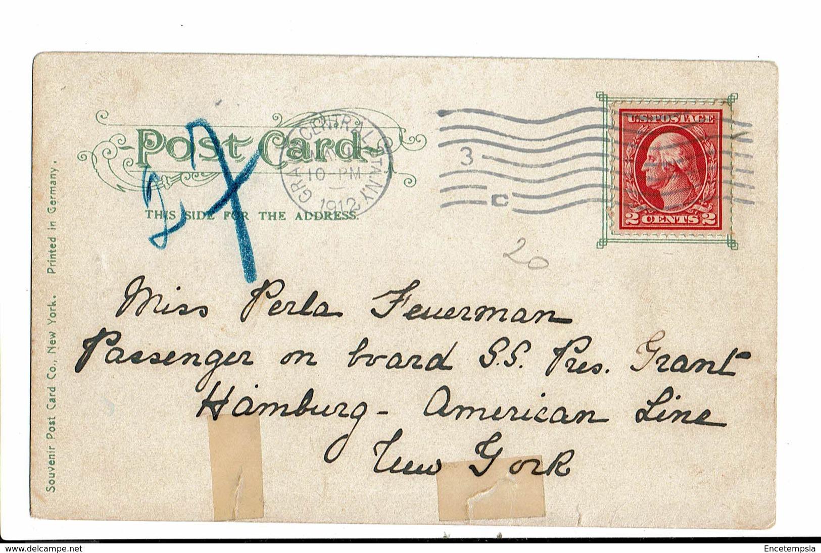 CPA - Carte Postale Etats Unis -New York Harbor -1912 - VM3247 - NY - New York