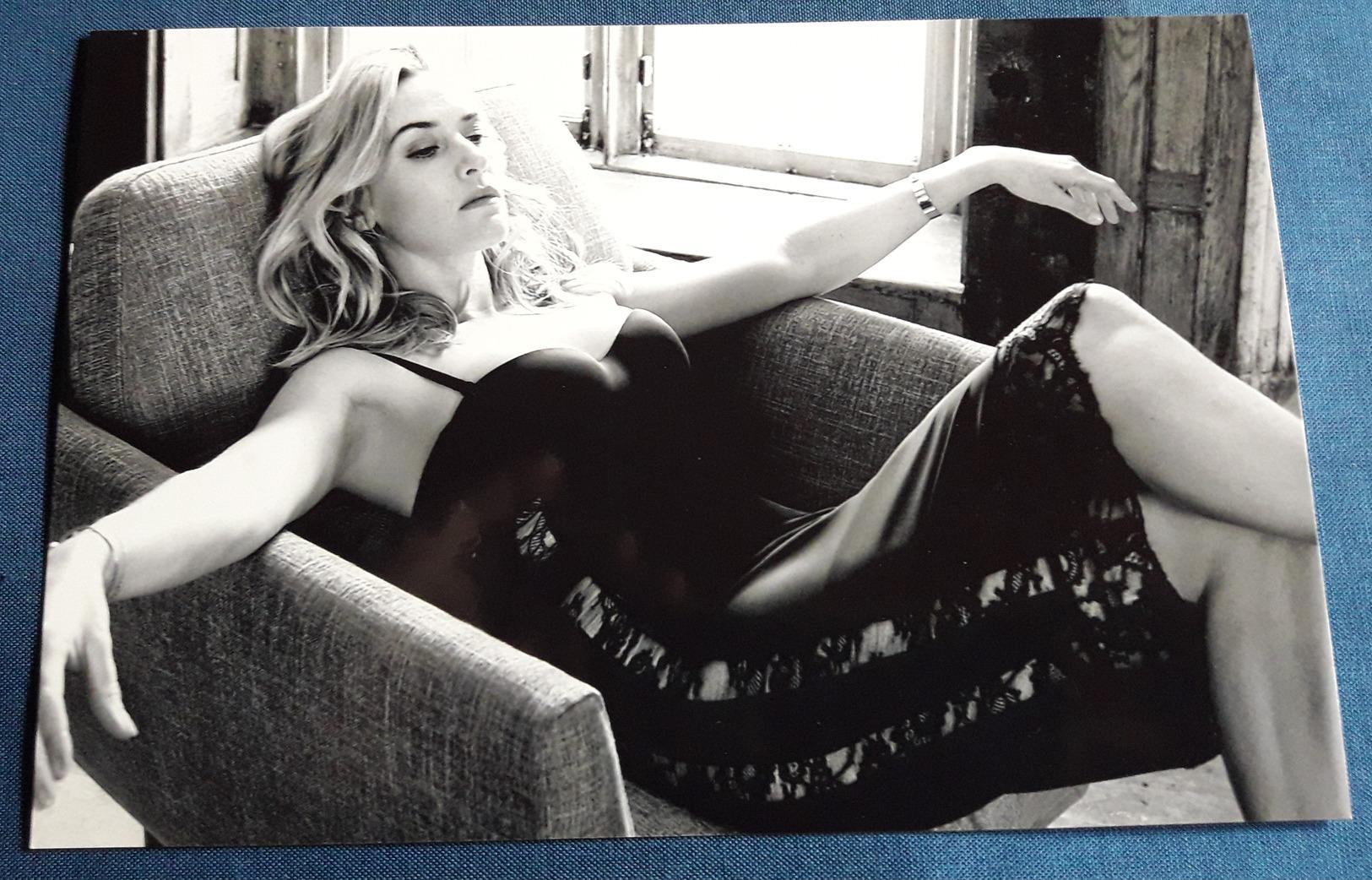 KATE WINSLET > Schauspielerin > Sexy Pin-Up Girl / Model > Hochglanz-Star-Photo Im Format Ca. 19 X 12,5 Cm (pf299) - Fotos