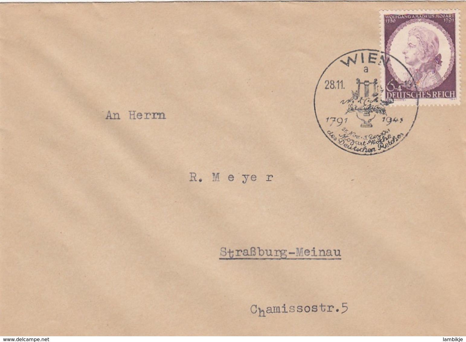 Deutsches Reich FDC 28-11-1941 - Briefe U. Dokumente