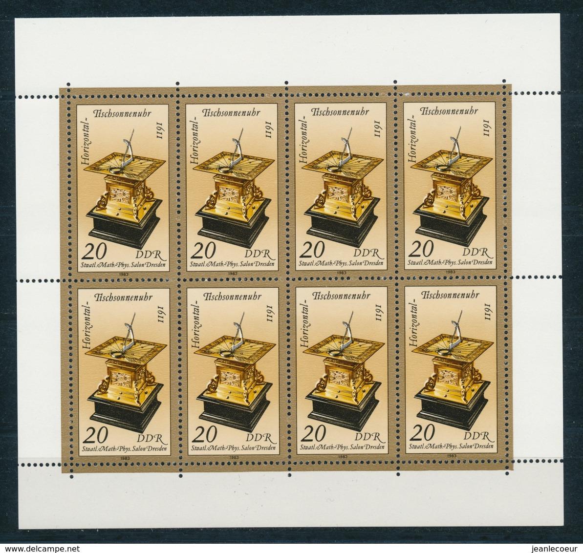DDR/East Germany/Allemagne Orientale 1983 Mi: Klb 2798 + 2798 I (PF/MNH/Neuf Sans Ch/nuovo Senza C./**)(4489) - [6] Oost-Duitsland