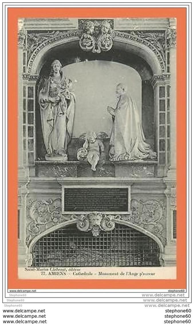 A572 / 589 80 - AMIENS Cathedrale Monument De L'Ange Pleureur - France