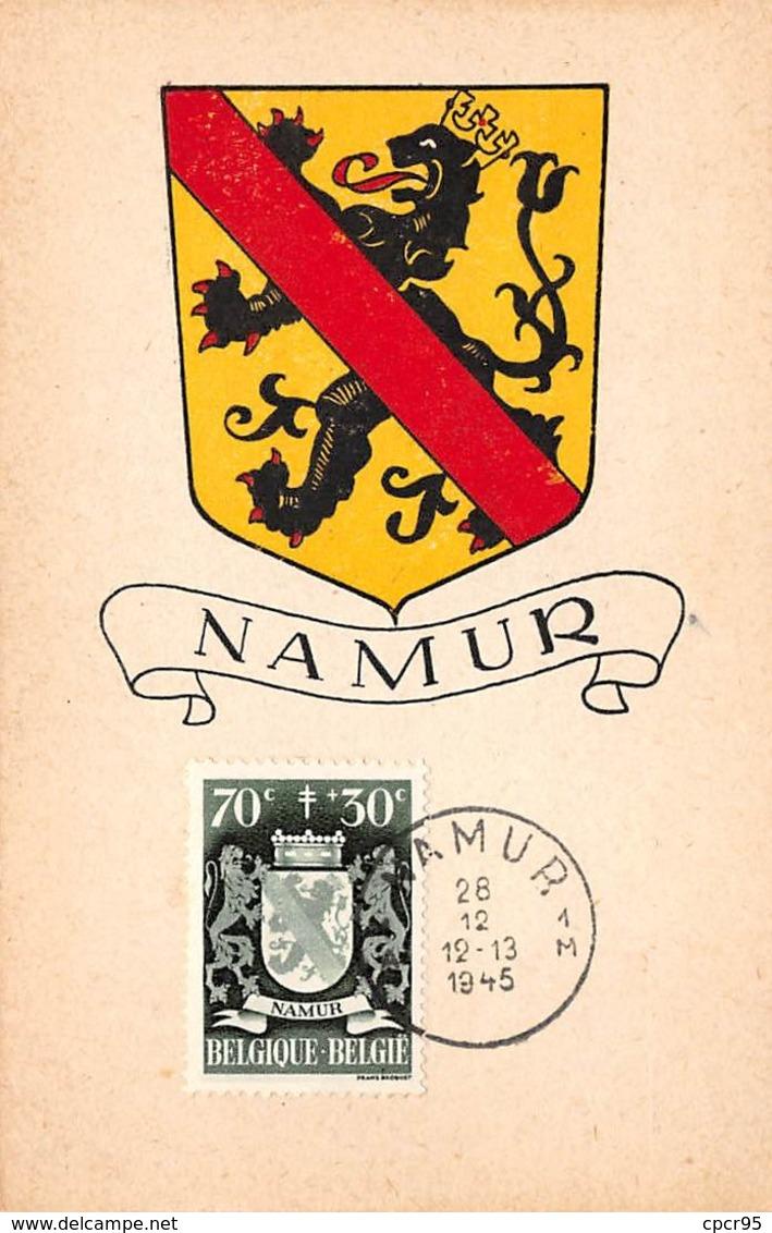 Belgique.n°57914.namur.blason.carte Maximum - Bélgica
