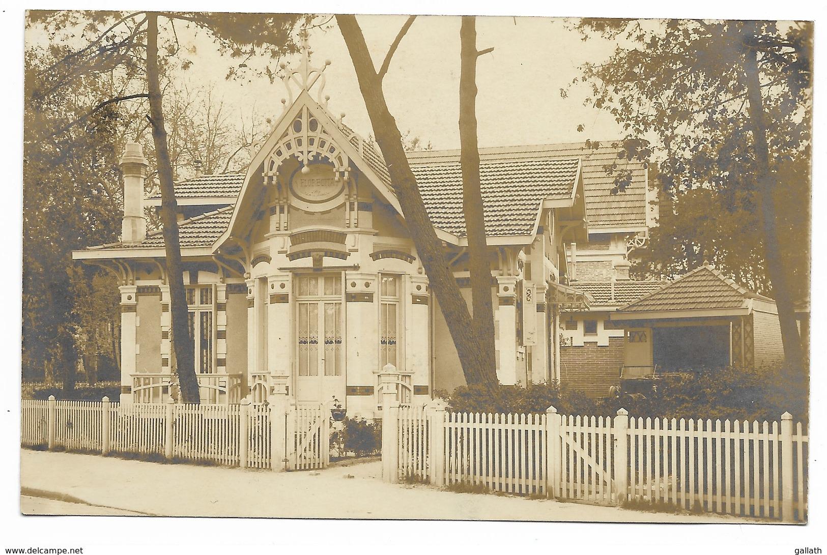 33-ARCACHON-CARTE PHOTO-Villa FLORECITA 27 Avenue Nelly-Deganne... - Arcachon