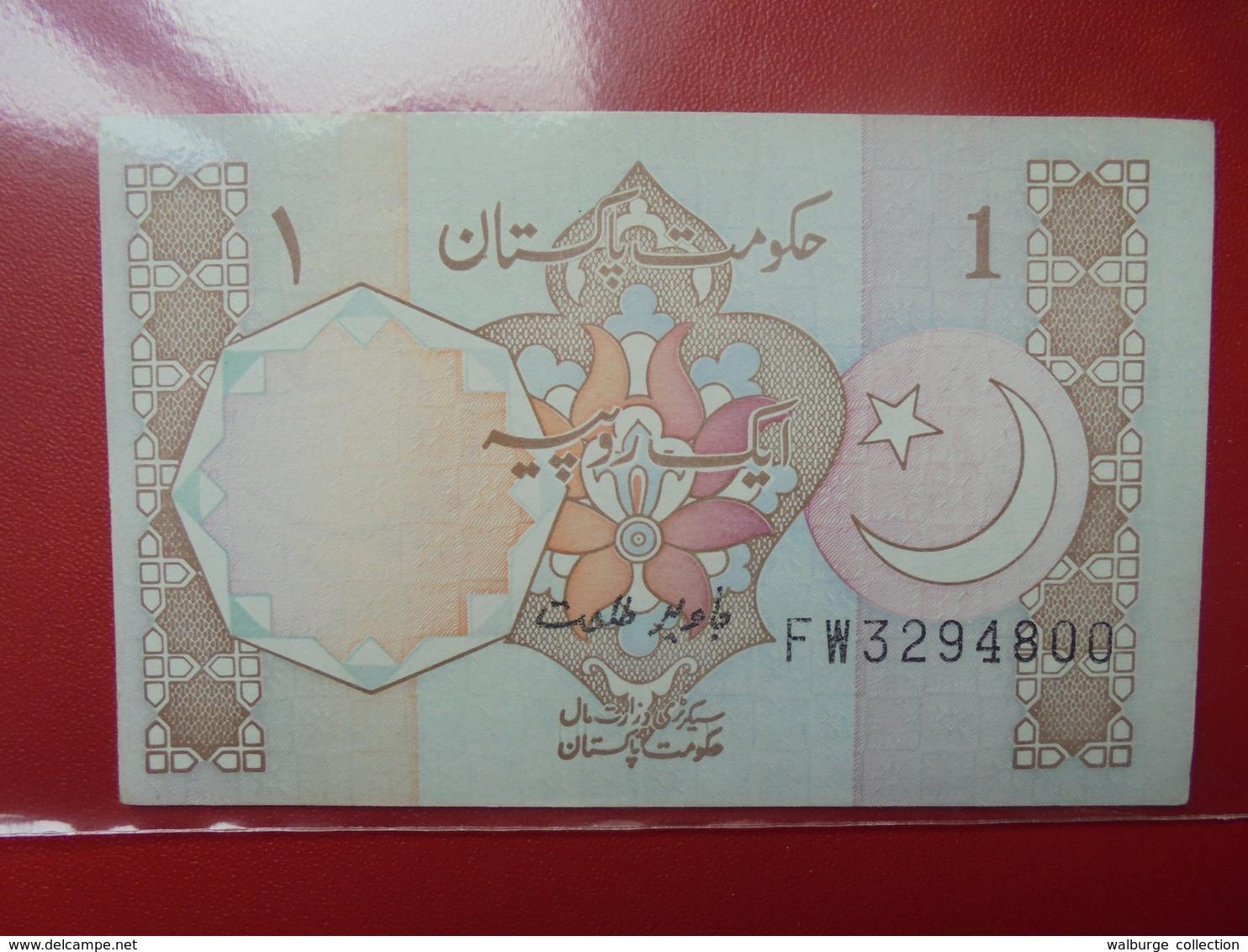 PAKISTAN 1 RUPEE 1981-82 PEU CIRCULER/NEUF - Pakistan