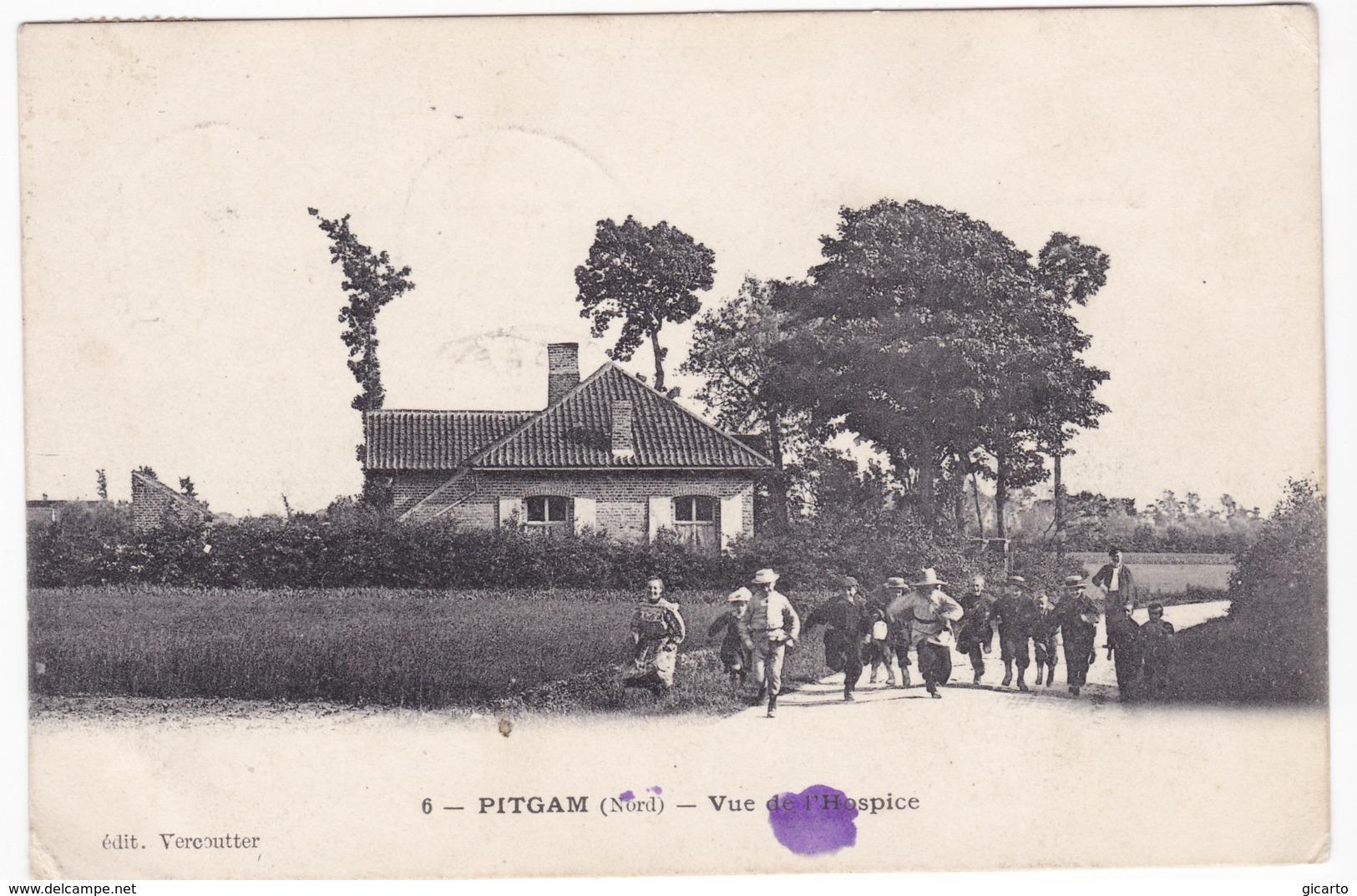Pitgam , Vue De L'hospice - France