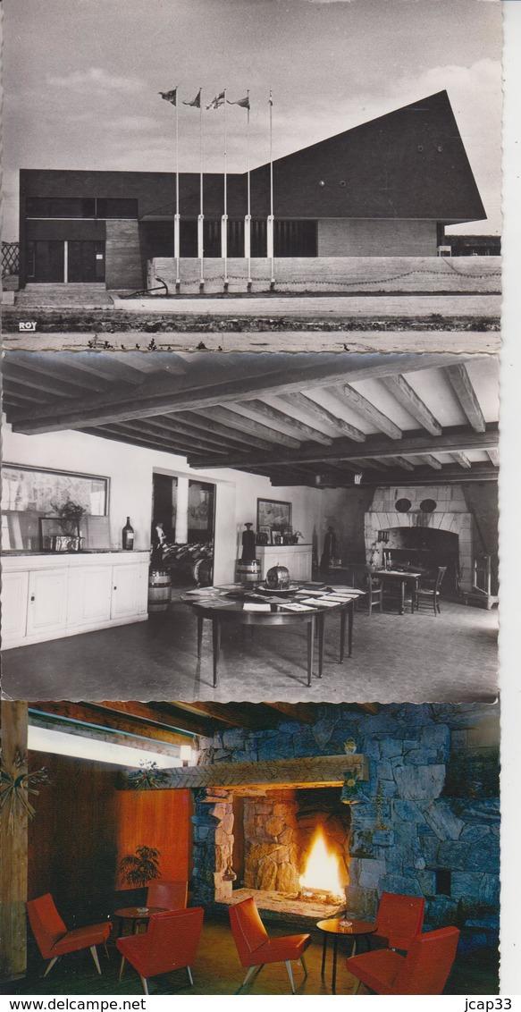 LOT DE 90 CARTES ANN 50/70 (Bords Dentelés) -  écrites Et Non écrites - Pas De Paris, Lourdes ... Qqes Ex En Scan  - - Postcards