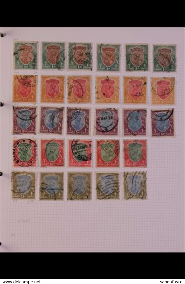 BRITISH ASIA COLLECTION 1850's To 1990's. An Extensive Mint And Used Range (mostly Used) In A Large Album, Often Lightly - Stamps