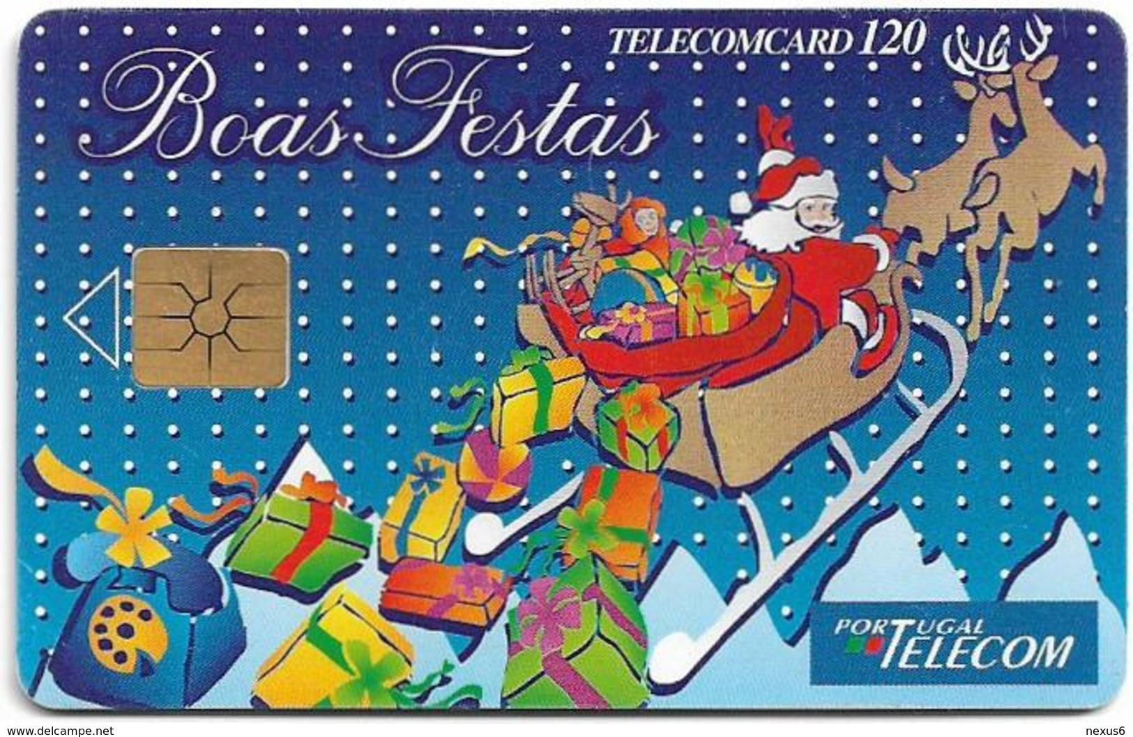 Portugal - PT - Boas Festas 95 - PT068 - 120Units, 12.1995, 100.000ex, Used - Portugal