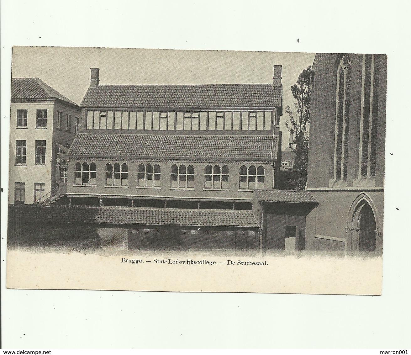 Brugge - Sint-lodewijkscollege - De Studiezaal ( 2 Scans ) - Brugge