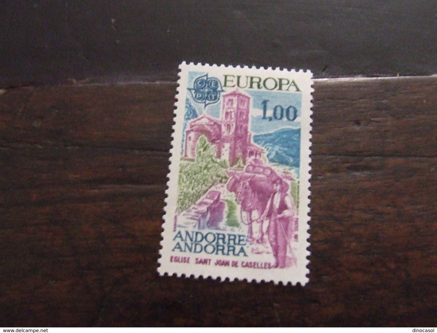 ANDORRA 1977 EUROPA 1 F  NUOVO ** - 1977