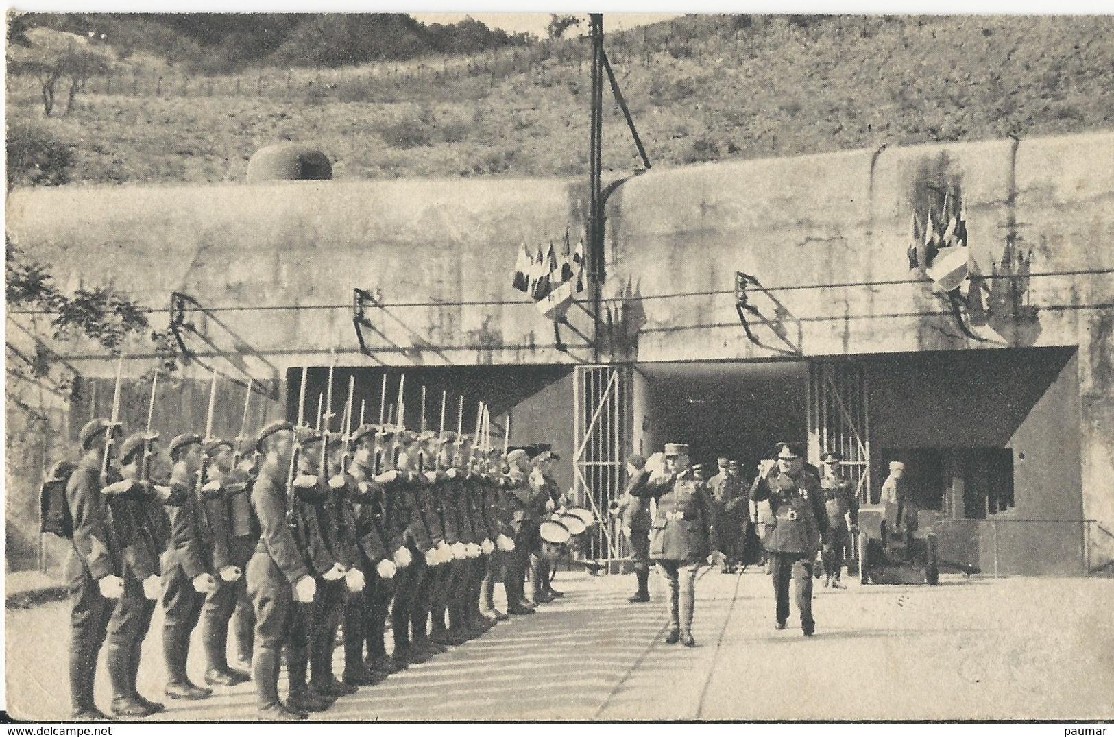 Ouvrage  De La Ligne Maginot - Francia