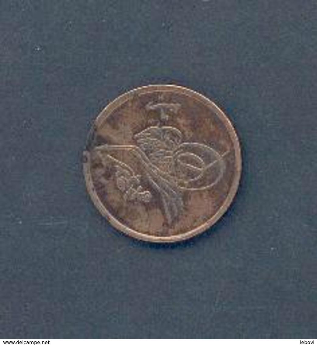EGYPTE - 1/20e Guerche – An 6 AH 1327 – Bronze - Egypte