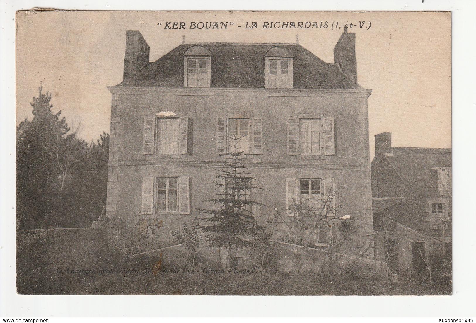 LA RICHARDAIS - KER BOUAN - 35 - France