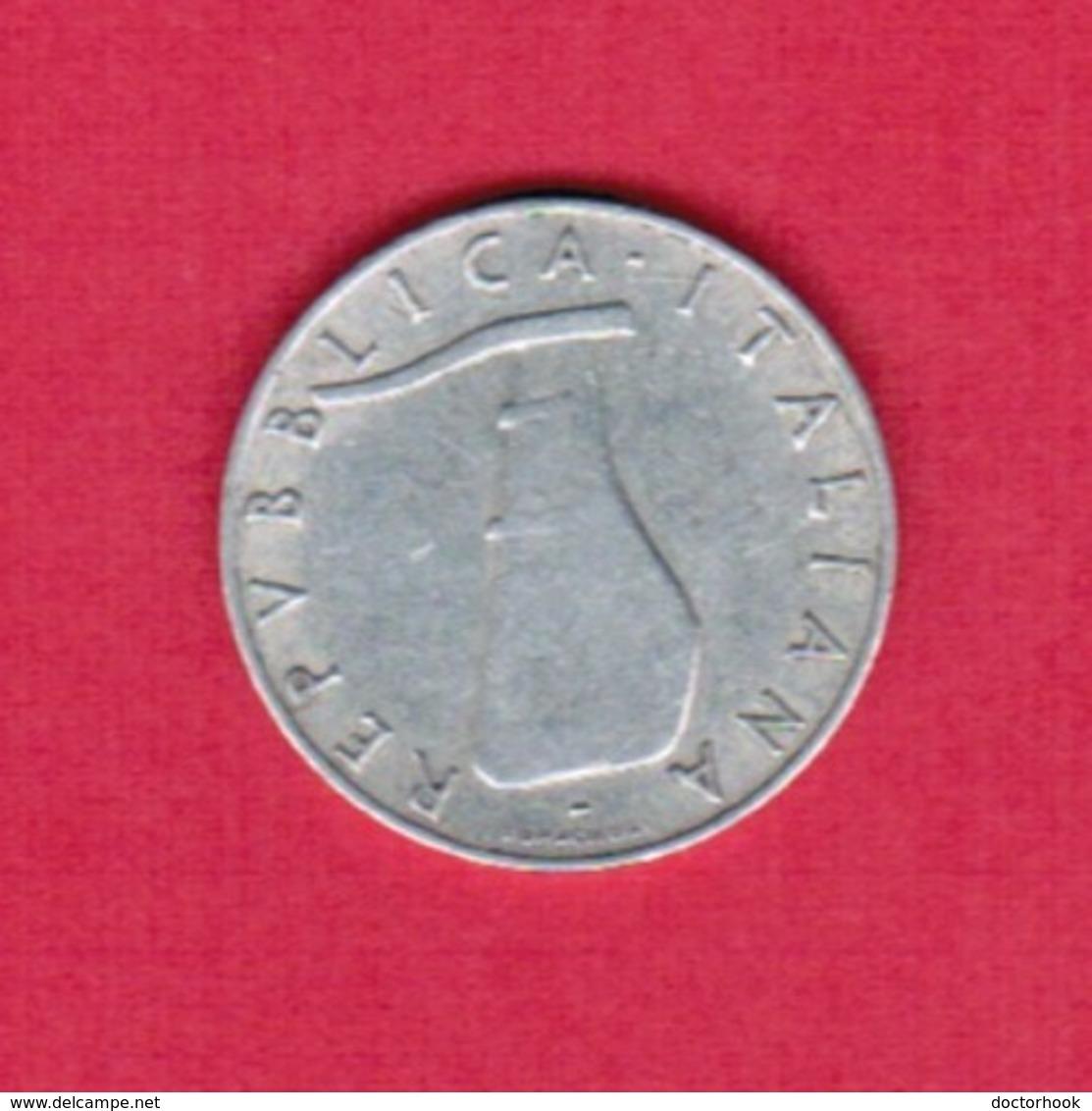 ITALY  5 LIRE 1953 (KM # 92) #5255 - 1946-… : Republic