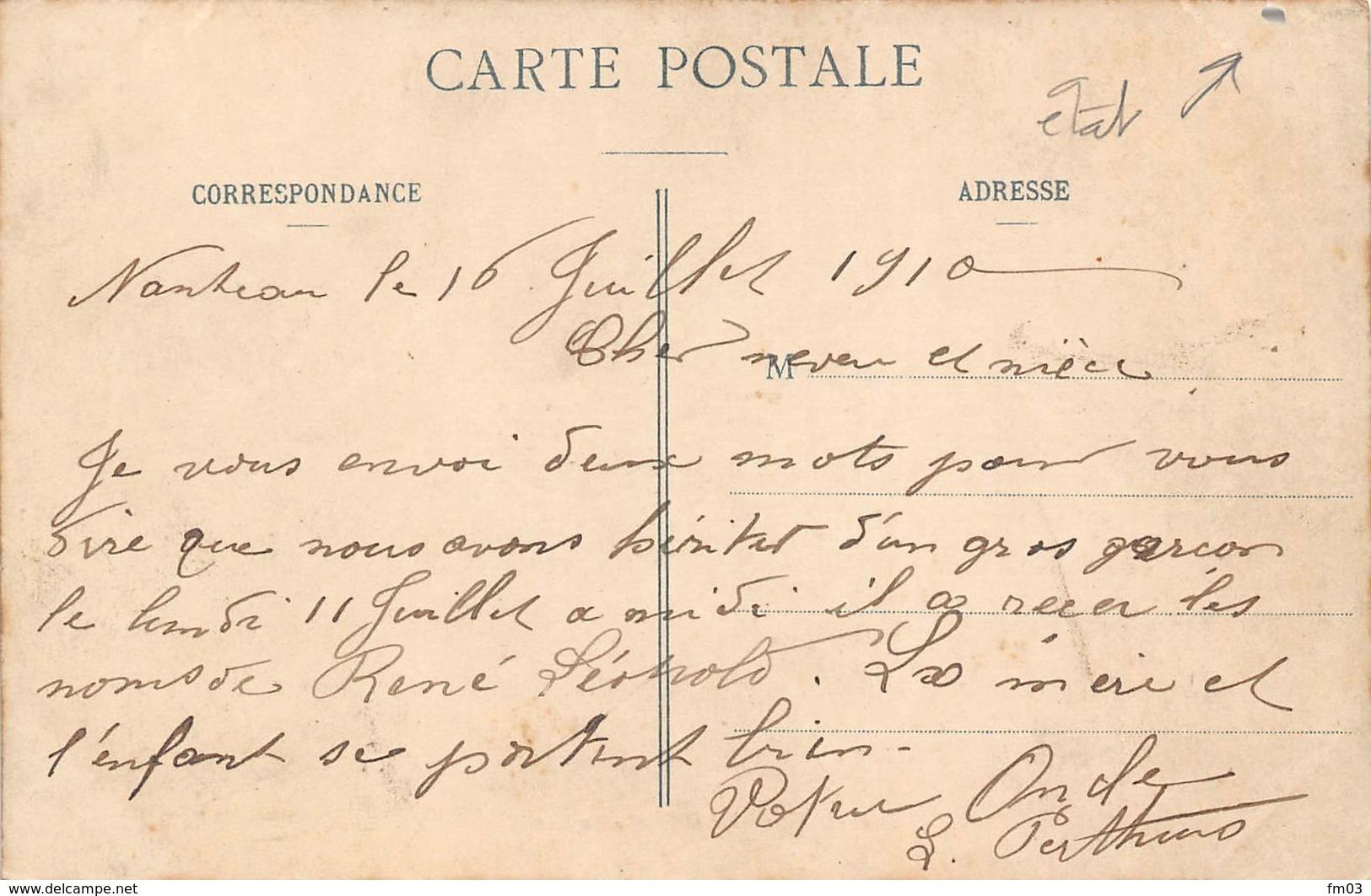 Nanteau Sur Essonne Canton La Chapelle La Reine Attention à L'état - France
