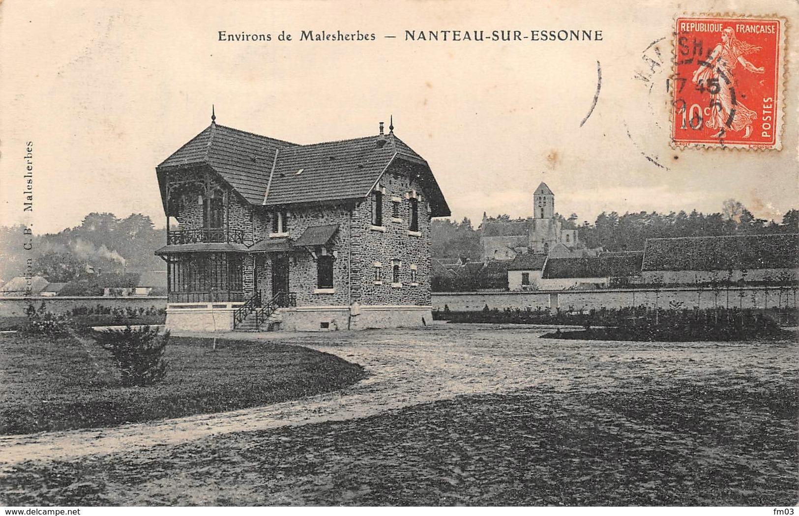 Nanteau Sur Essonne Canton La Chapelle La Reine - France