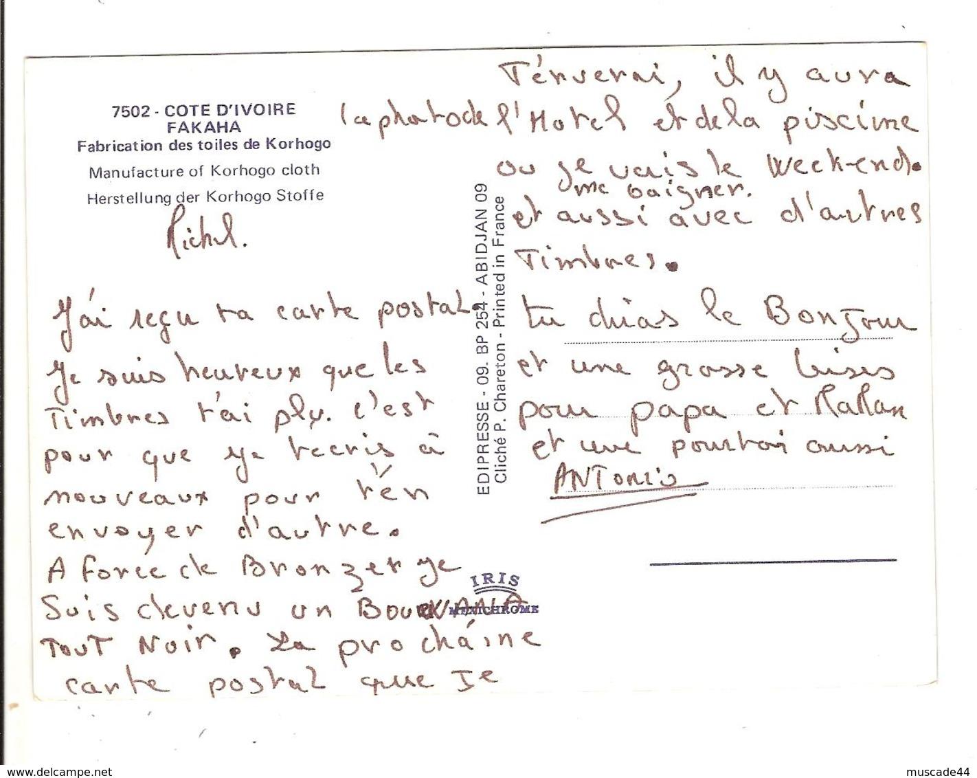 FAKAHA - FABRICATIONS DES TOILES DE KORHOGO - MULTI VUES - Côte-d'Ivoire