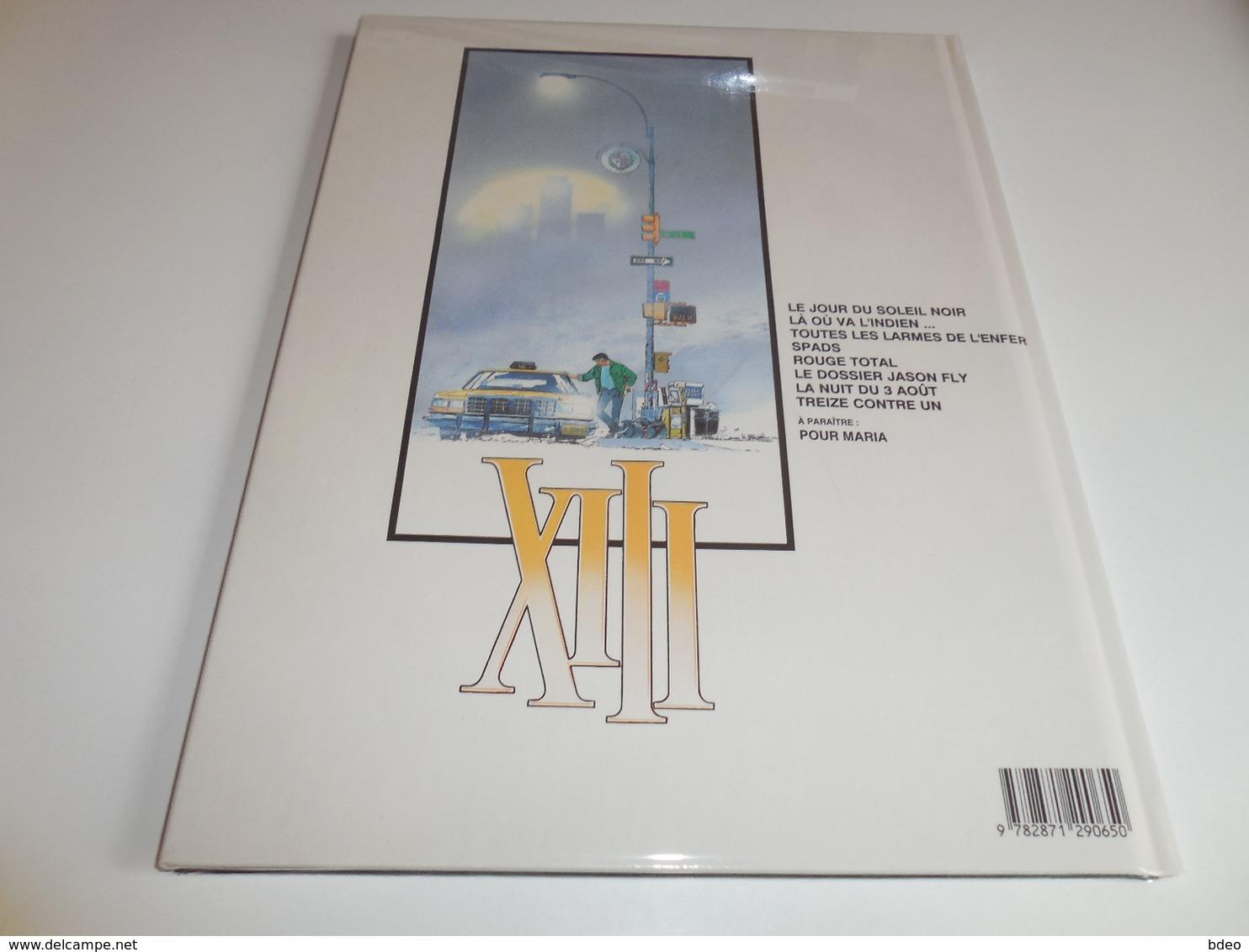 EO XIII TOME 8/ TREIZE CONTRE UN/ TTBE - XIII