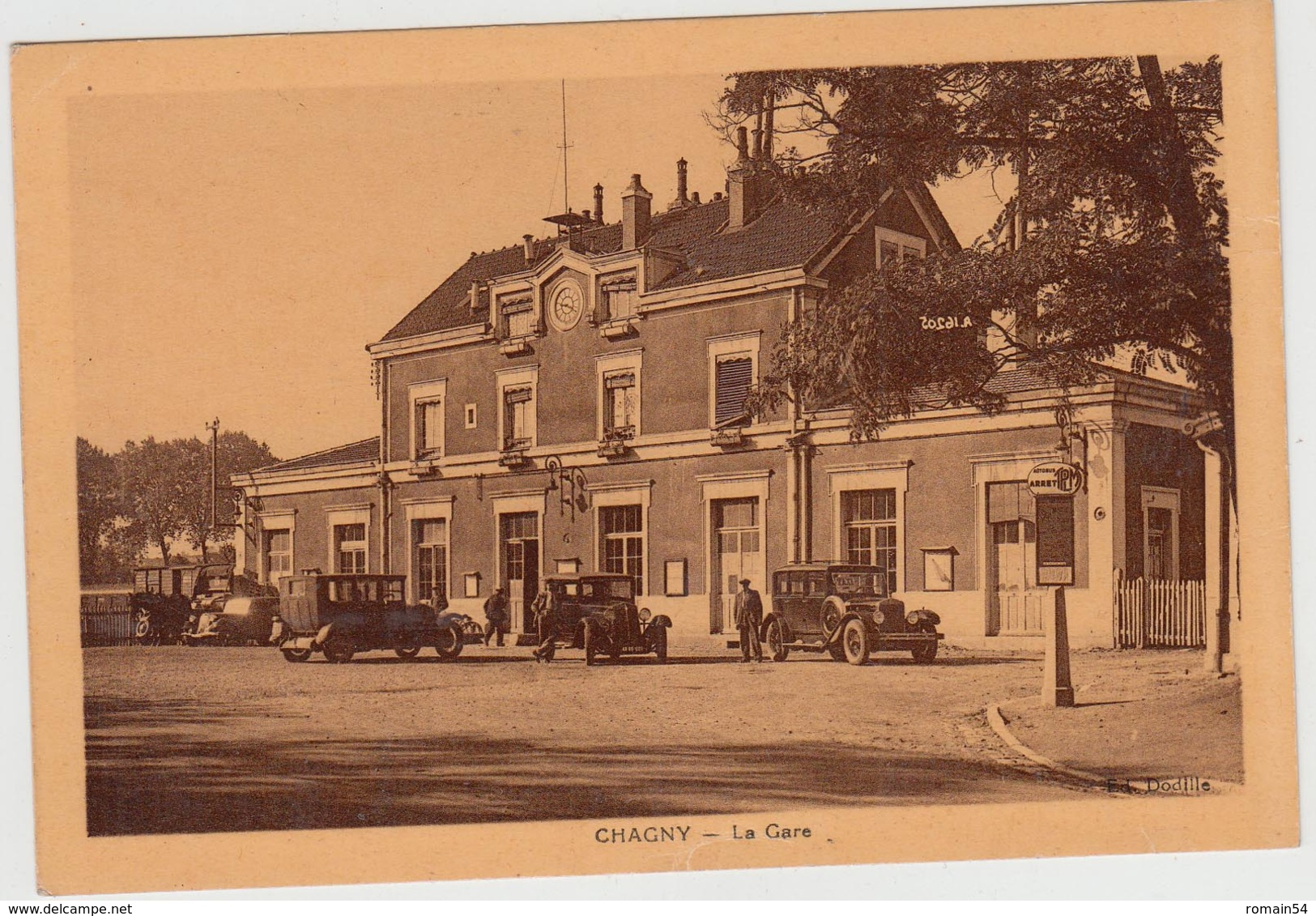 CHAGNY-LA GARE - France