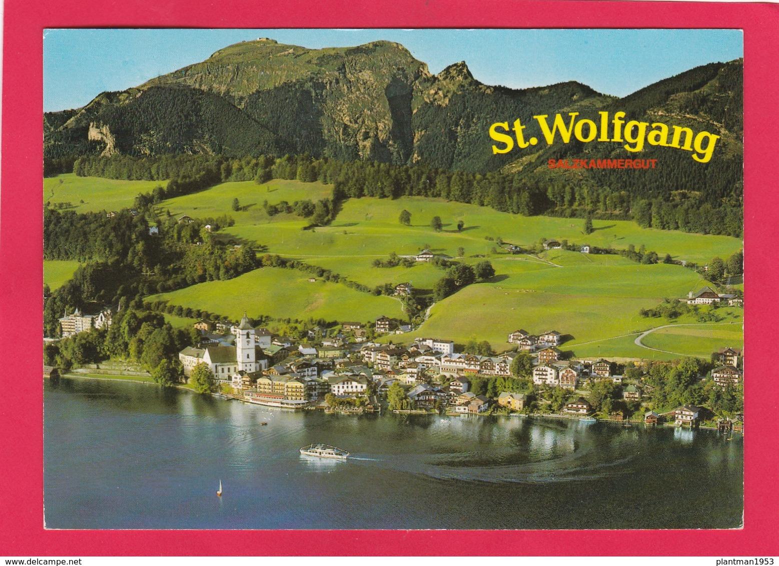 Modern Post Card Of St. Wolfgang,Higher-Austria, Austria,L52. - St. Wolfgang