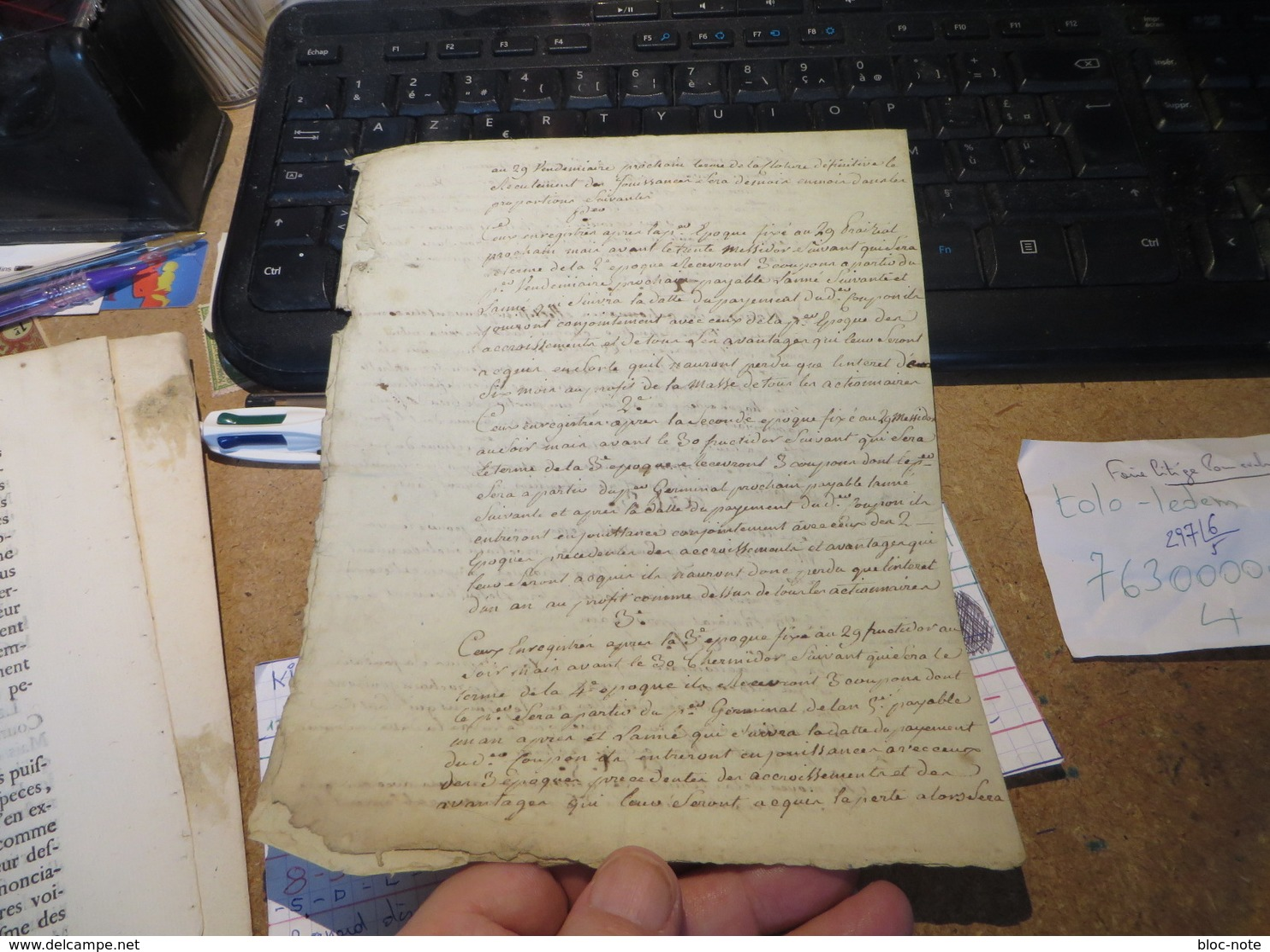 Dire Un Million D'habitann - Documentos Históricos