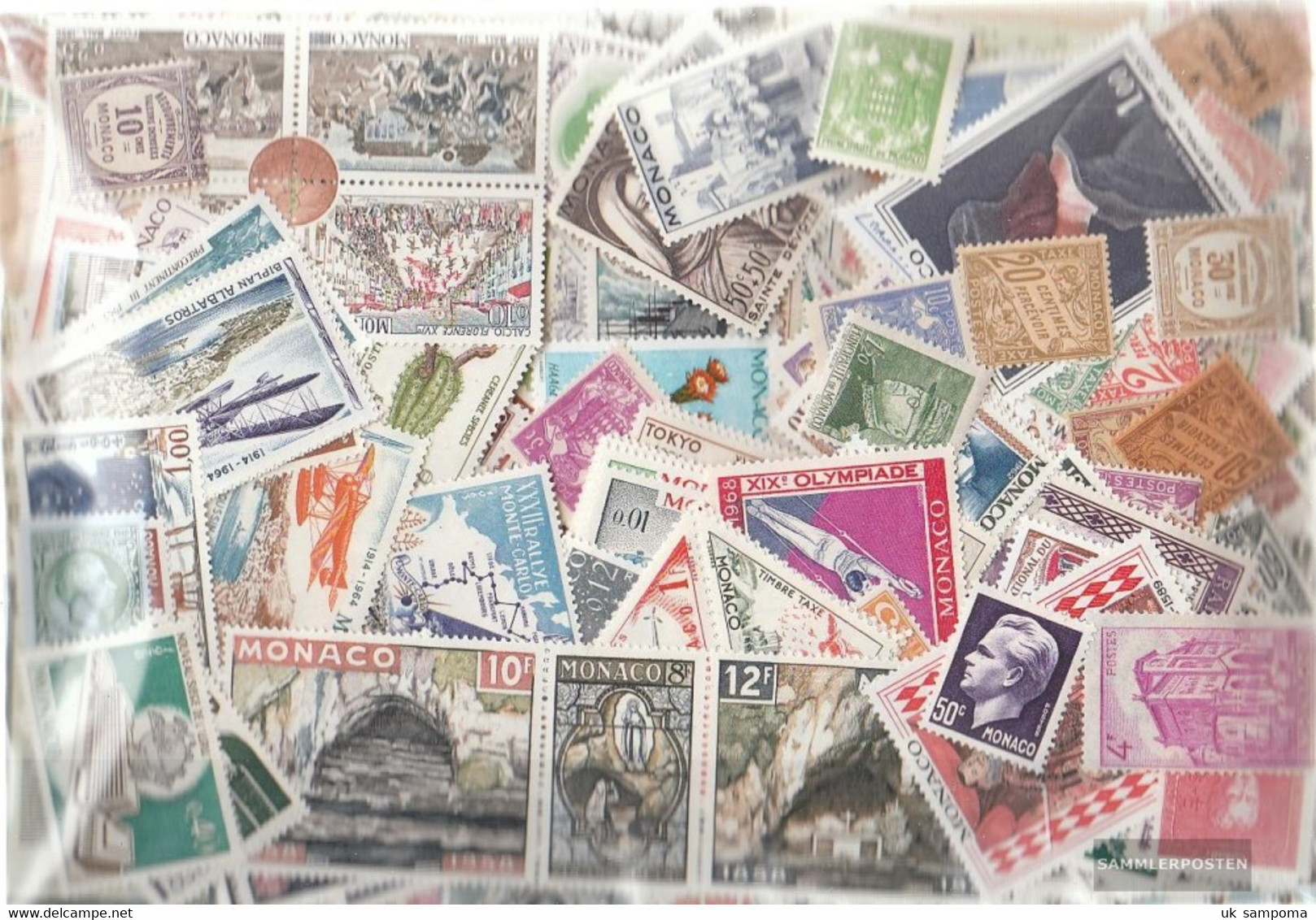 Monaco Stamps-1.200 Different Stamps - Collections, Lots & Series