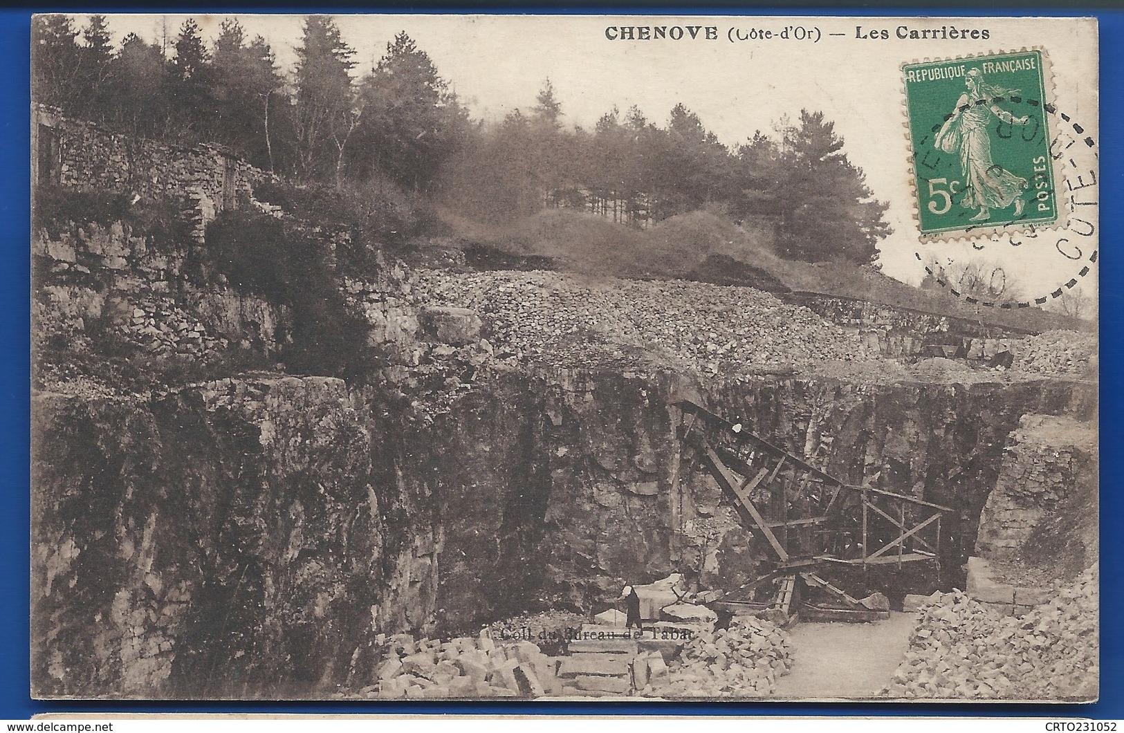 CHENOVE    Les Carrières      écrite En 1910 - Chenove