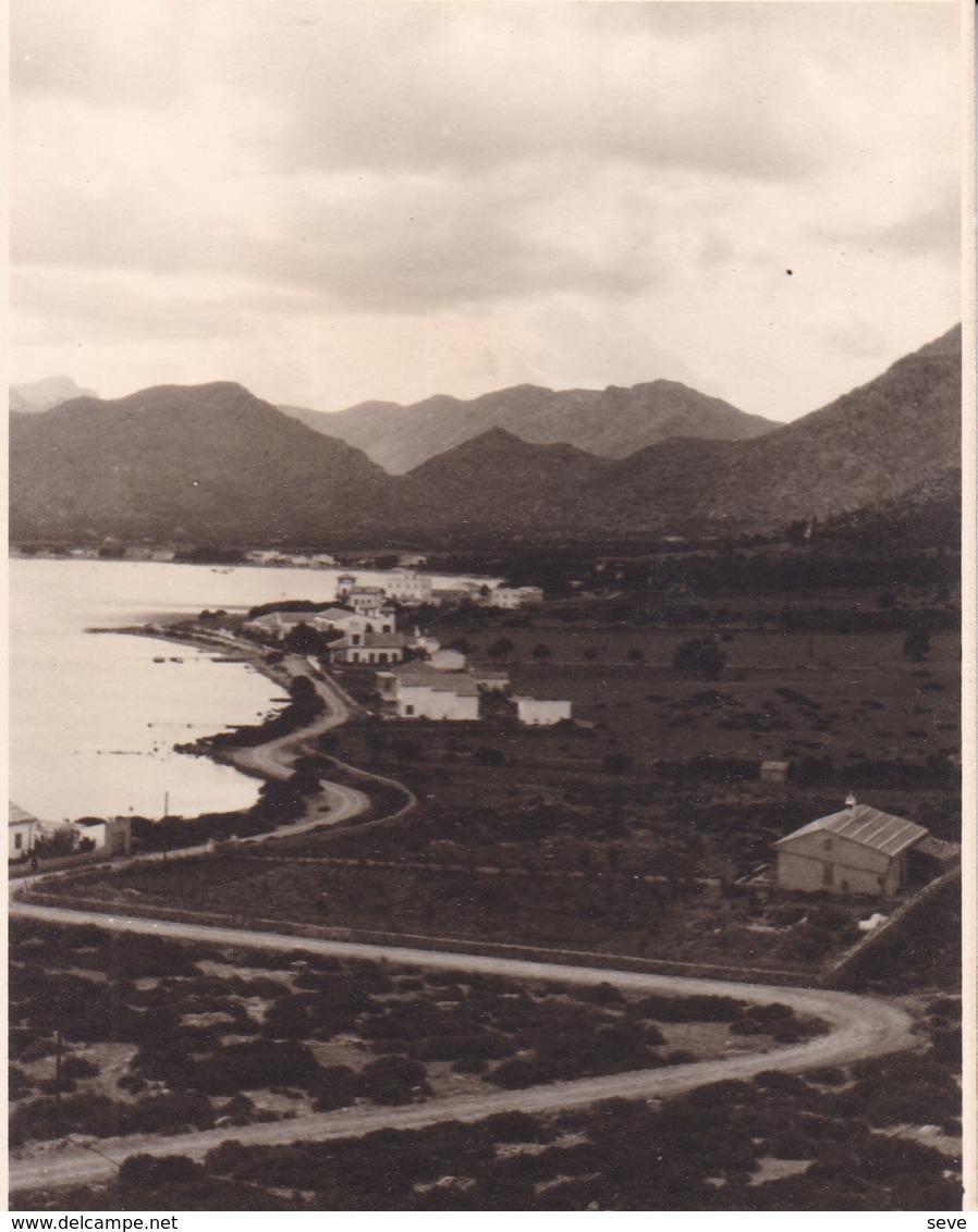 PALMA DE MAJORQUE POLLENSA 1930  Photo Amateur  Format Environ 7,5 Cm Sur 5,5 Cm - Lieux