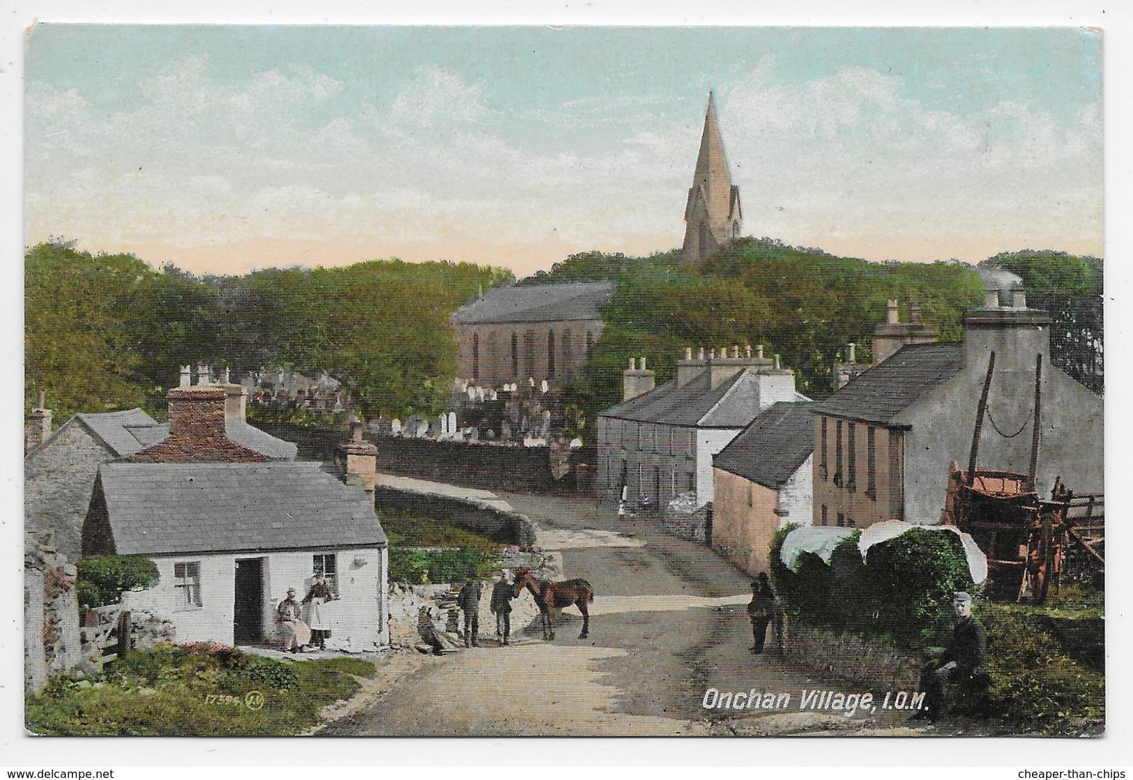 Onchan Village, I.O.M. - Valentine Souvenir 17594 - Isle Of Man
