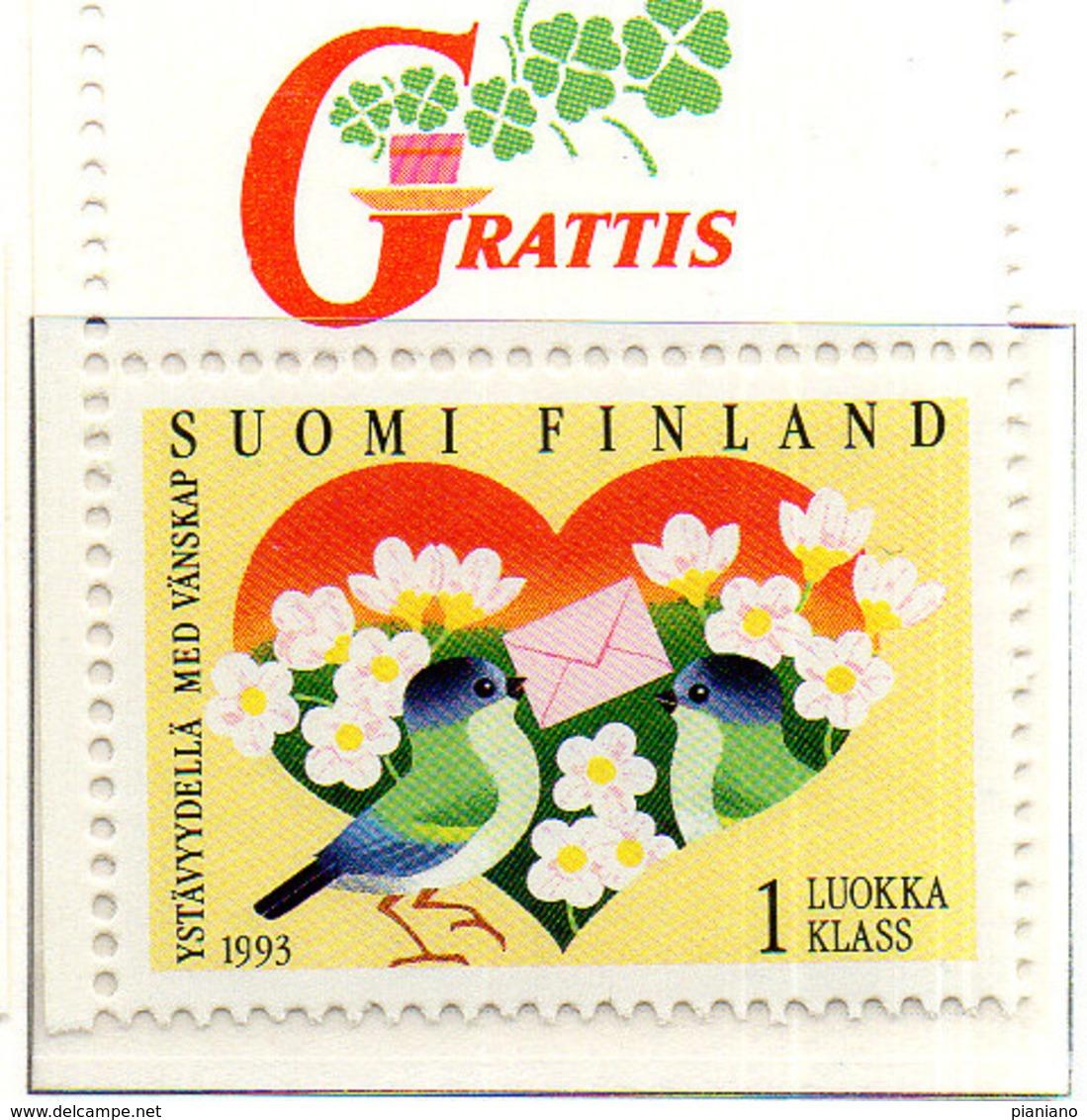 PIA - FINL  - 1993 : Amicizia Tra Finlandia Ed Estonia - (Yv 1164) - Finlandia
