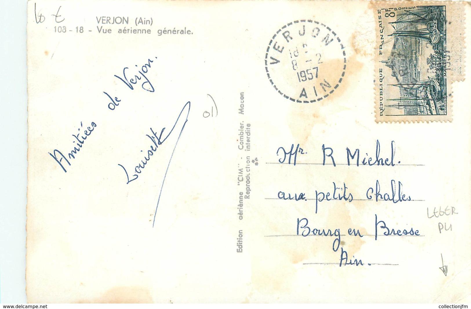 """CPSM FRANCE 01 """" Verjon """" - Autres Communes"""