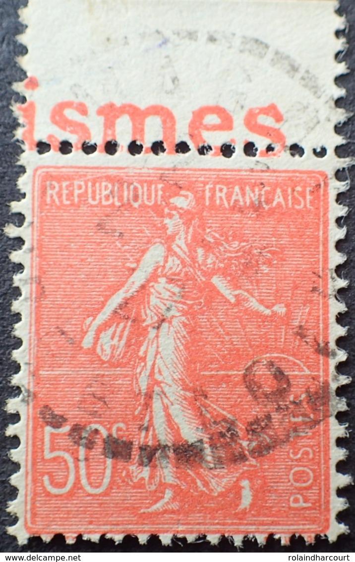 R1934/165 - 1924 - TYPE SEMEUSE LIGNEE - N°199 Avec Bande Publicitaire - Advertising