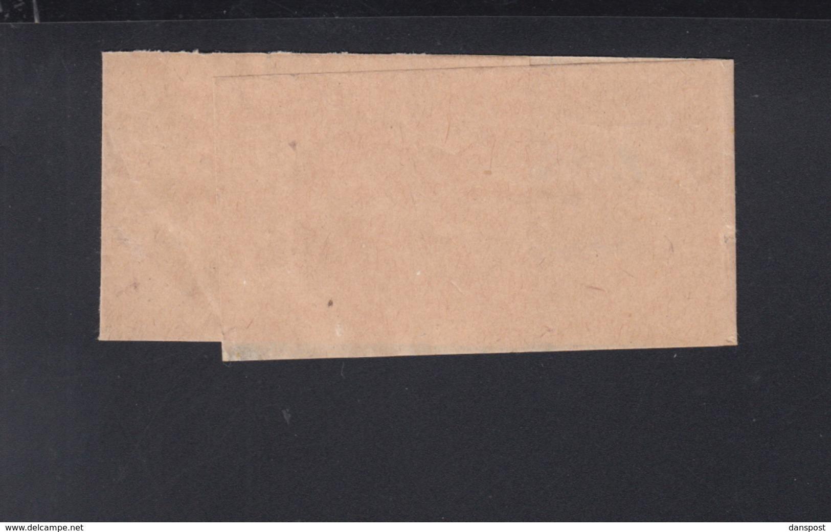Dt. Reich Streifband 1922 Nach Schweiz - Deutschland