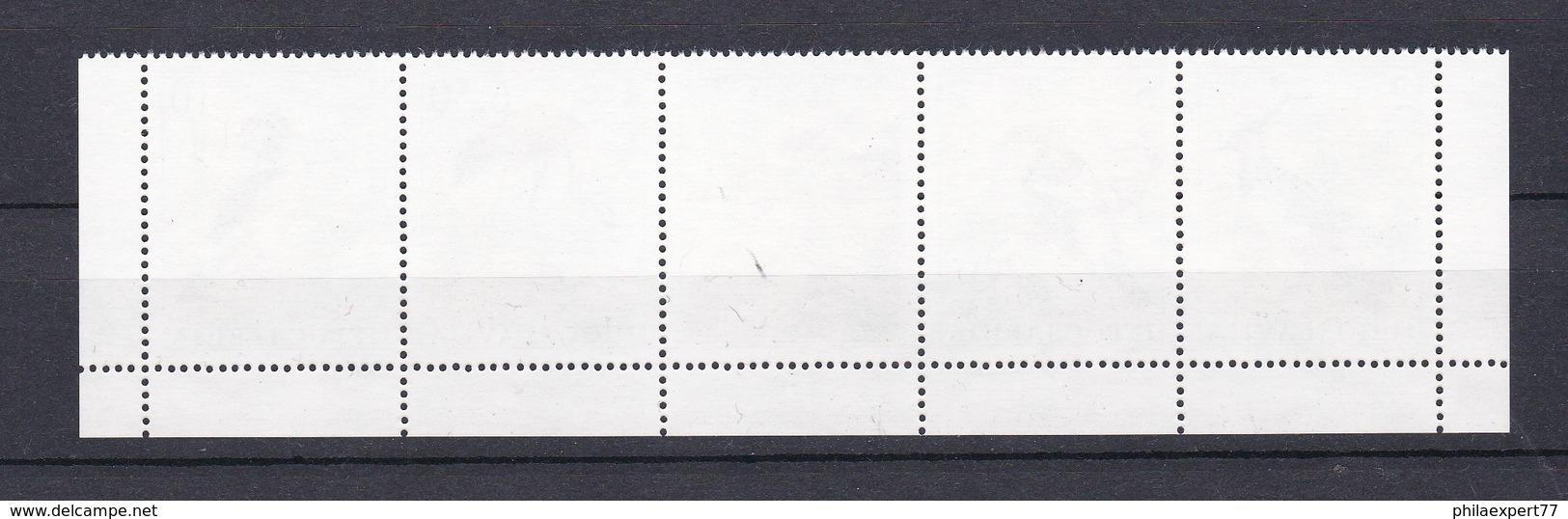 Jugoslawien - 1991 - Michel Nr. 2463/66 - Fünferstreifen - Postfrisch - 1945-1992 Sozialistische Föderative Republik Jugoslawien