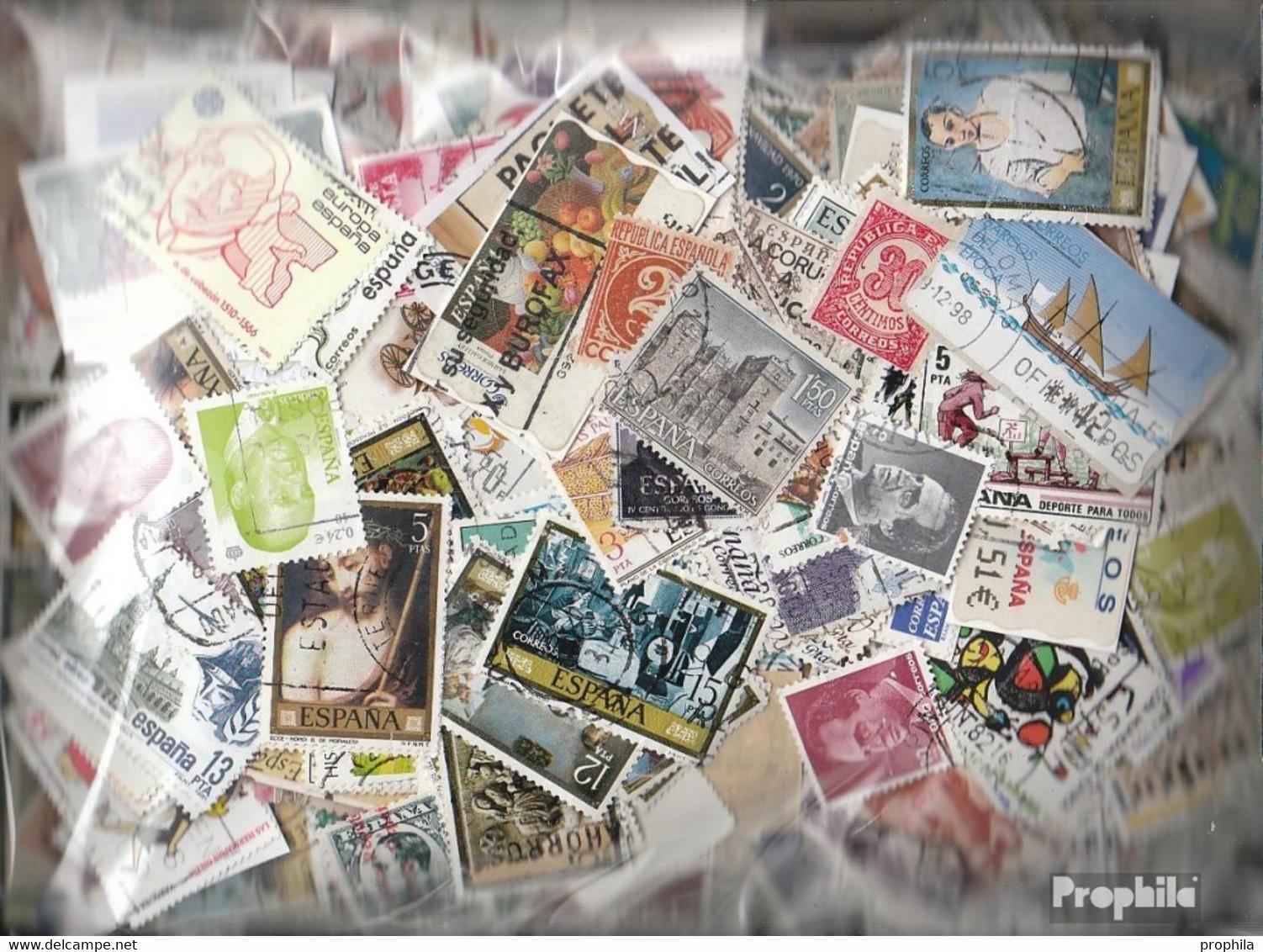 Spanien Briefmarken-4.000 Verschiedene Marken - Sammlungen