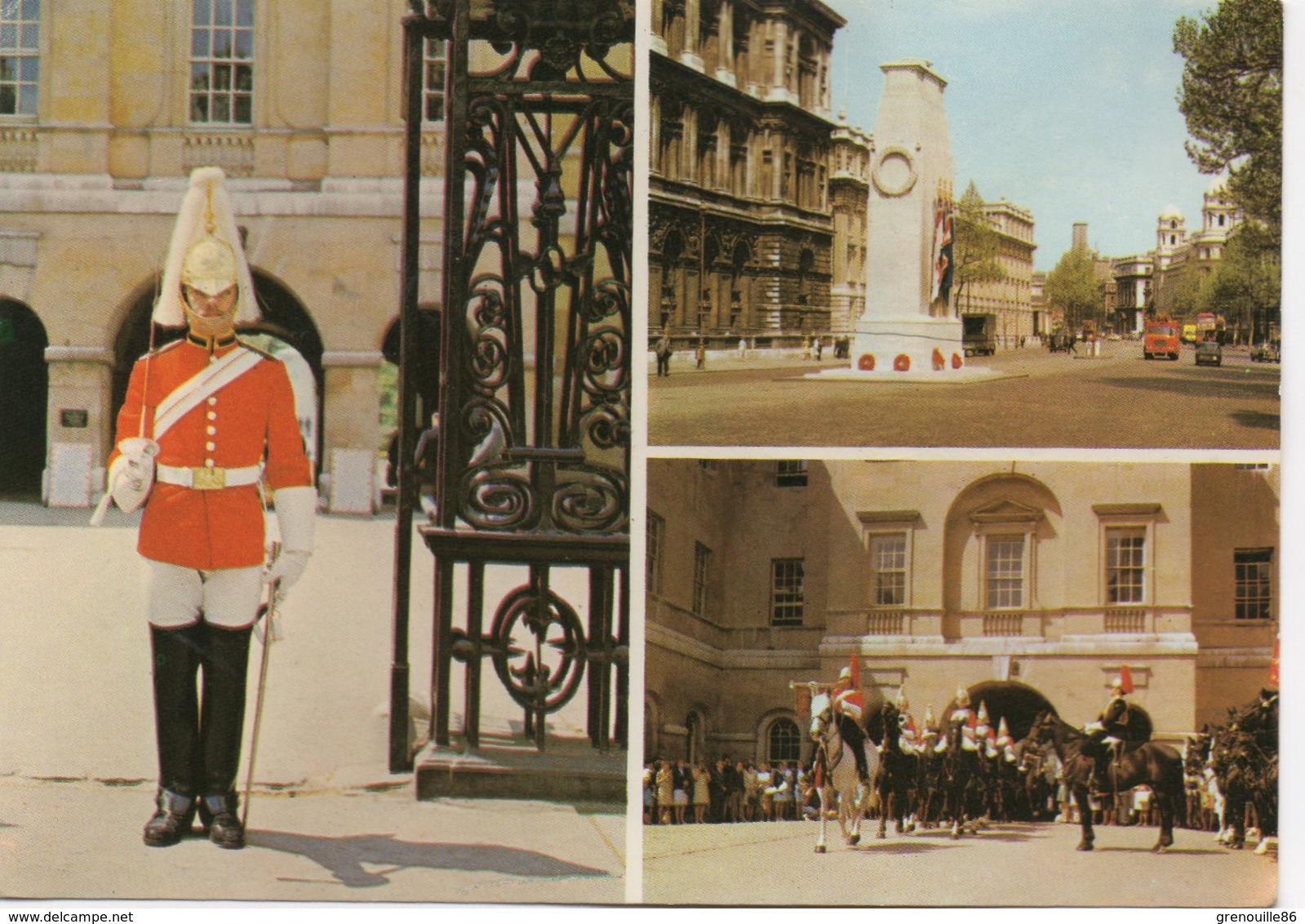 CPA ANGLETERRE LONDRES Gardes à Whitehall Diverses Vues - London