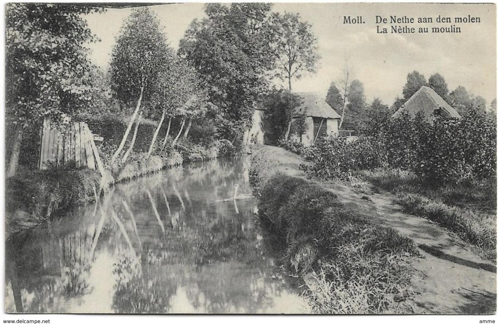 Mol  - Moll  *  De Nethe Aan Den Molen - La Nethe Au Moulin - Mol